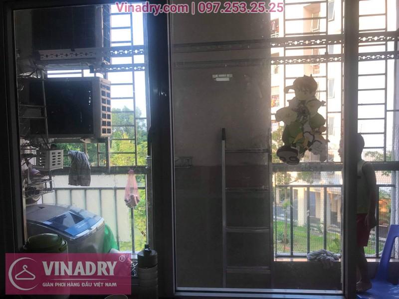 Sửa giàn phơi quần áo tại Gia Lâm, khu đô thị Đăng Xá cho nhà chú Thụy 08