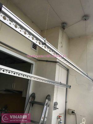 Sửa giàn phơi quần áo - Thay dây cáp XỊN tại chung cư Nam Đô, nhà chị Hảo