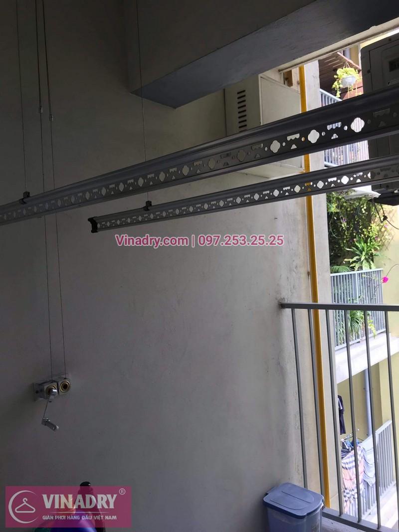 Lắp giàn phơi Hòa Phát giá rẻ HP999B tại khu đô thị Ecopark cho nhà chị Thúy 02