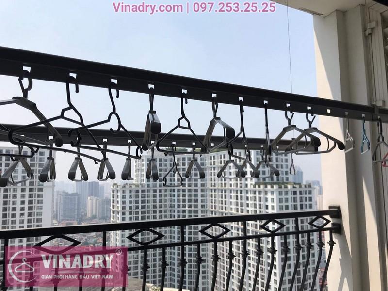 Vinadry sửa chữa giàn phơi, thay bộ tời HP999B tại Royal City cho nhà chú Điều căn hộ 3023 08