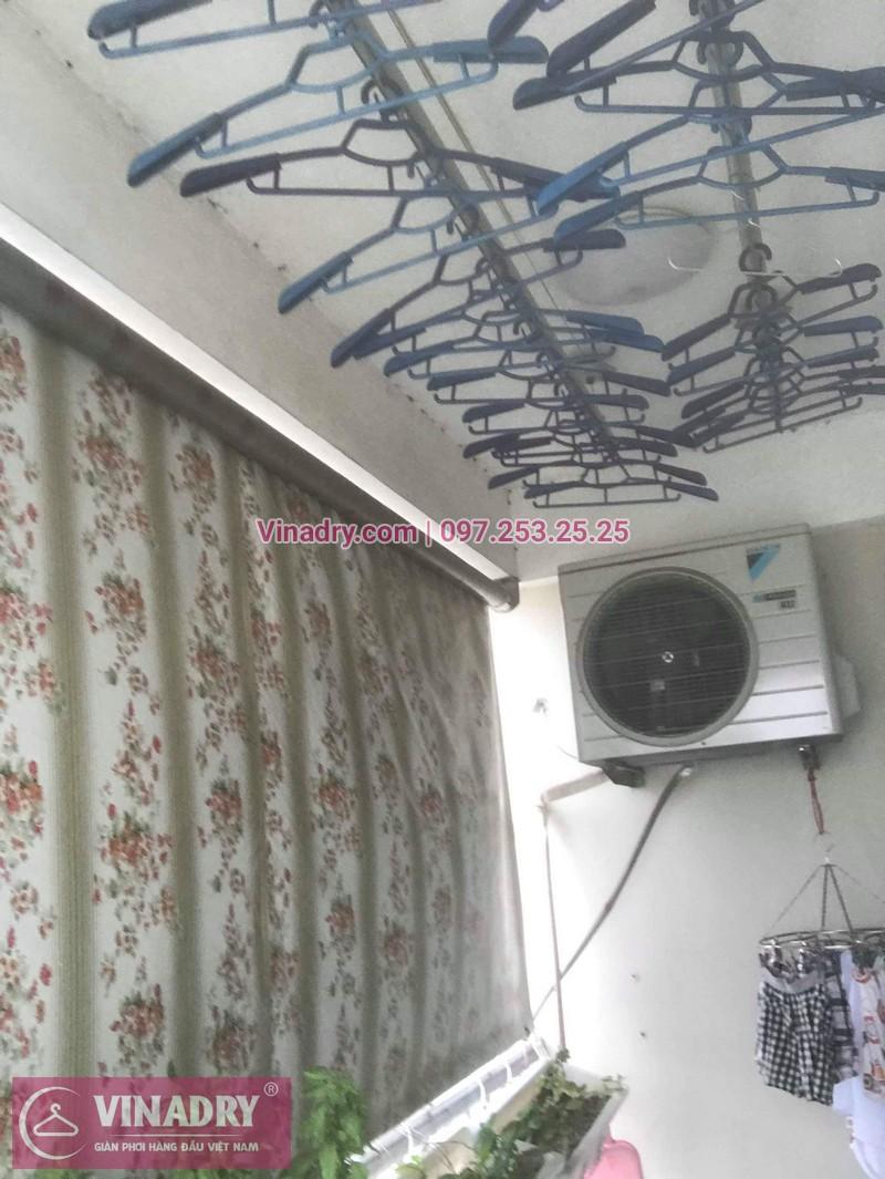 Vinadry chuyên thay dây cáp giàn phơi chất giá rẻ tại Thạch Bàn, Long Biên