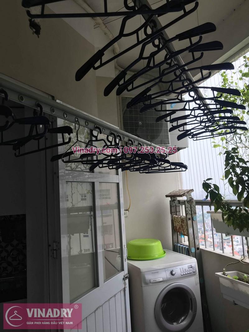 Vinadry thay dây cáp giàn phơi chất giá rẻ tại Thạch Bàn, Long Biên cho nhà anh Hộ chỉ trong 15 phút - 04