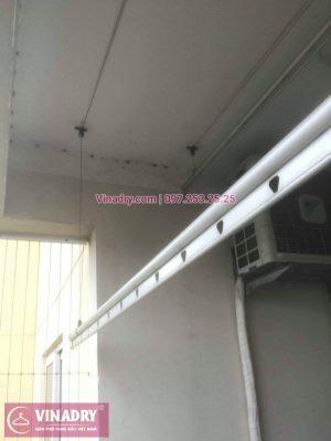 Vinadry thay dây cáp giàn phơi - cáp cực bền chỉ 150k cho nhà anh Lãm tại chung cư Vimeco, Nguyễn Chánh