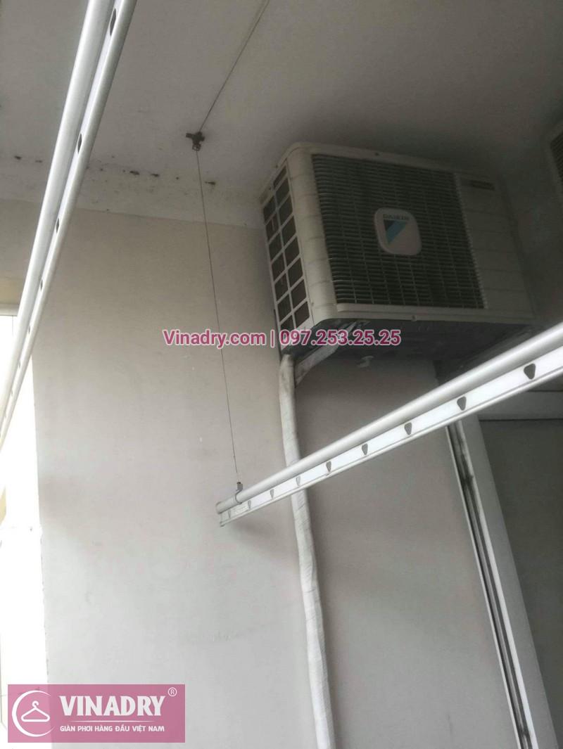Vinadry thay dây cáp giàn phơi - cáp cực bền chỉ 150k cho nhà anh Lãm tại chung cư Vimeco, Nguyễn Chánh - 07