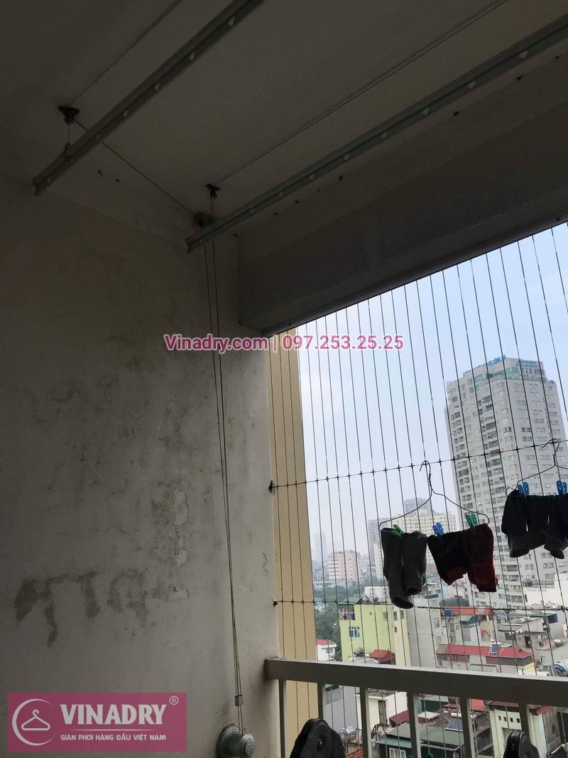 Vinadry thay dây cáp giàn phơi - cáp cực bền chỉ 150k cho nhà anh Lãm tại chung cư Vimeco, Nguyễn Chánh - 05