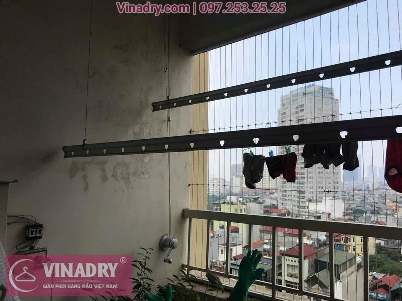 Vinadry thay dây cáp giàn phơi - cáp cực bền chỉ 150k cho nhà anh Lãm tại chung cư Vimeco, Nguyễn Chánh - 04