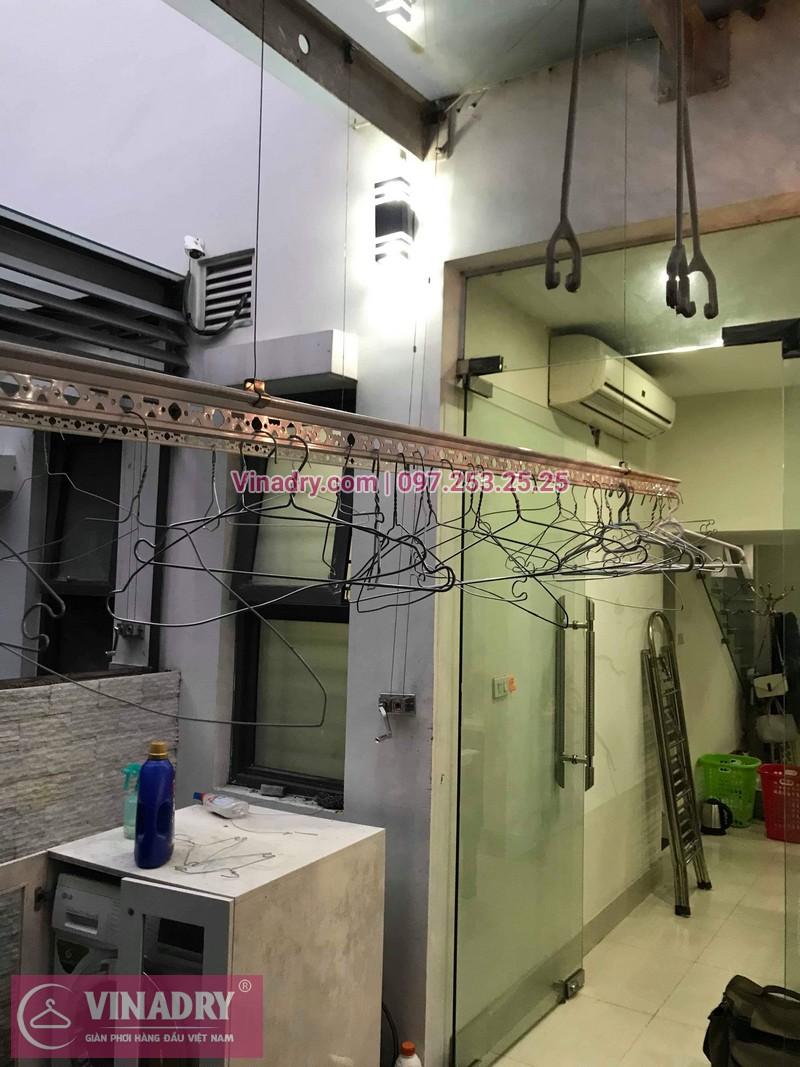 Vinadry thay dây cáp giàn phơi tại khu đô thị Gamuda, Hoàng Mai cho nhà anh Thái 01