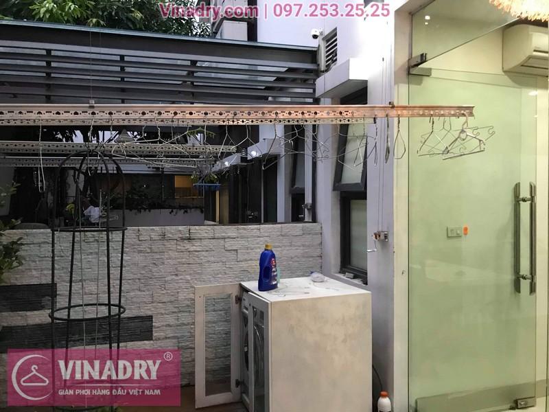 Vinadry thay dây cáp giàn phơi tại khu đô thị Gamuda, Hoàng Mai cho nhà anh Thái 03