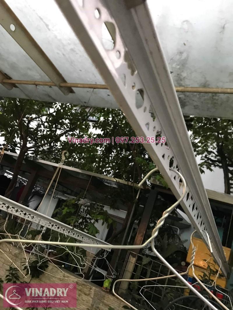 Vinadry thay dây cáp giàn phơi tại khu đô thị Gamuda, Hoàng Mai cho nhà anh Thái 05