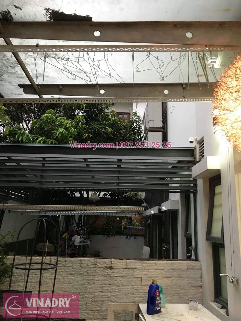 Vinadry thay dây cáp giàn phơi tại khu đô thị Gamuda, Hoàng Mai cho nhà anh Thái 07
