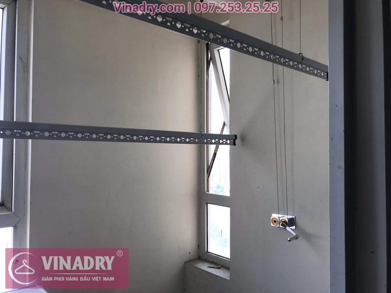 Vinadry thay linh kiện giàn phơi tại chung cư Z133 Bộ Quốc Phòng nhà anh Cảnh, bộ tời HP999B 02