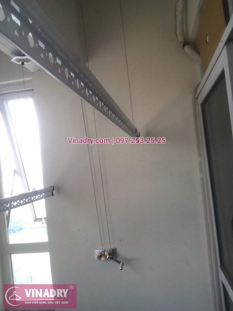 Vinadry thay linh kiện giàn phơi tại chung cư Z133 Bộ Quốc Phòng nhà anh Cảnh, bộ tời HP999B 08