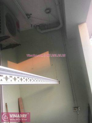 Thay linh kiện cho giàn phơi HP999B tại kđt Việt Hưng, Long Biên cho nhà chị Hòa - Vinadry sửa chữa giàn phơi, thay thanh phơi chất lượng, giá TỐT nhất