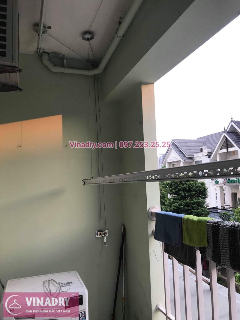 Thay linh kiện cho giàn phơi HP999B tại kđt Việt Hưng, Long Biên cho nhà chị Hòa - Vinadry sửa chữa giàn phơi, thay thanh phơi chất lượng, giá TỐT nhất- 01