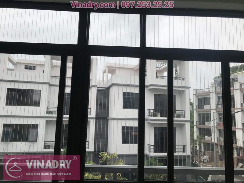 Vinadry thi công lưới an toàn ban công, lưới án toàn cửa sổ các phòng của quán karaoke
