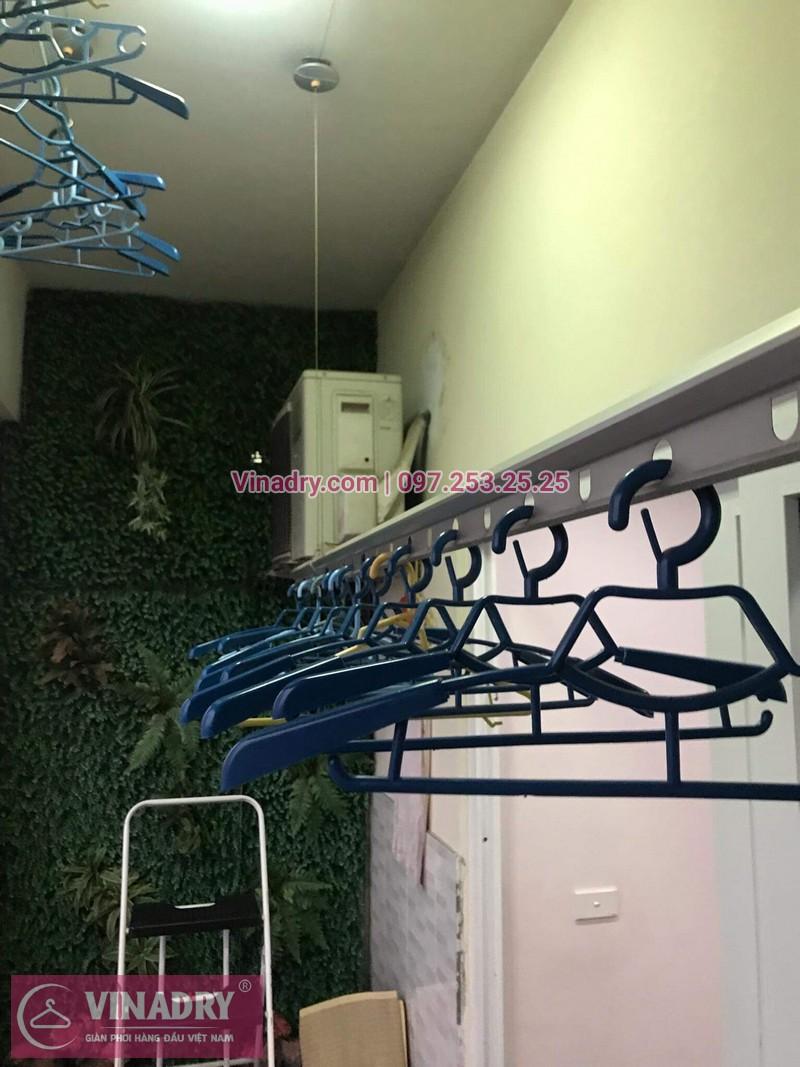 Vinadry sửa giàn phơi tại Hoàng Mai, chung cư Nam Đô cho nhà chú Kỳ