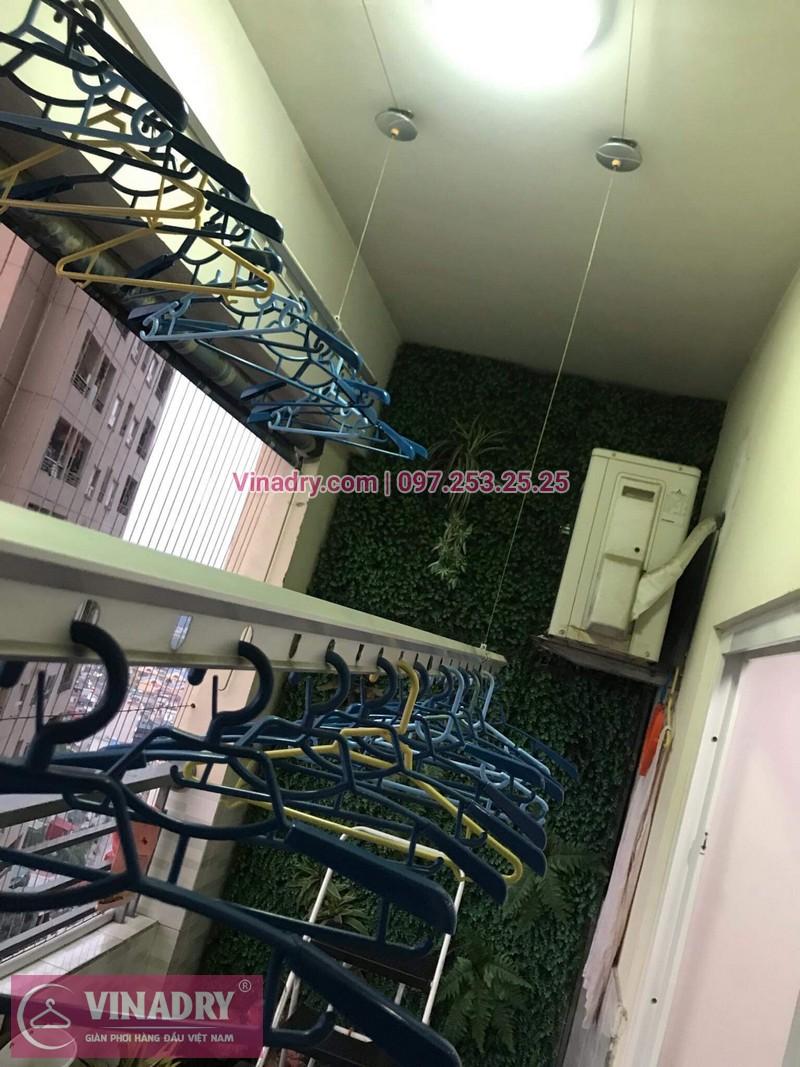 Vinadry sửa giàn phơi tại Hoàng Mai, chung cư Nam Đô cho nhà chú Kỳ 04