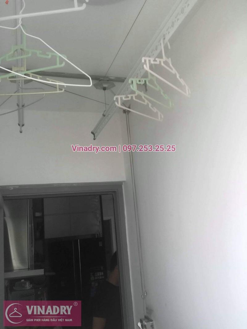 Vinadry thay dây cáp giàn phơi TỐT GIÁ RẺ tại Times City cho nhà anh Thông - 01
