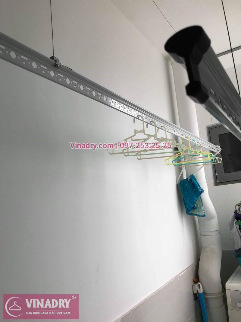 Vinadry thay dây cáp giàn phơi TỐT GIÁ RẺ tại Times City cho nhà anh Thông - 03