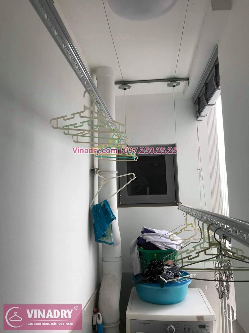 Vinadry thay dây cáp giàn phơi TỐT GIÁ RẺ tại Times City cho nhà anh Thông - 04