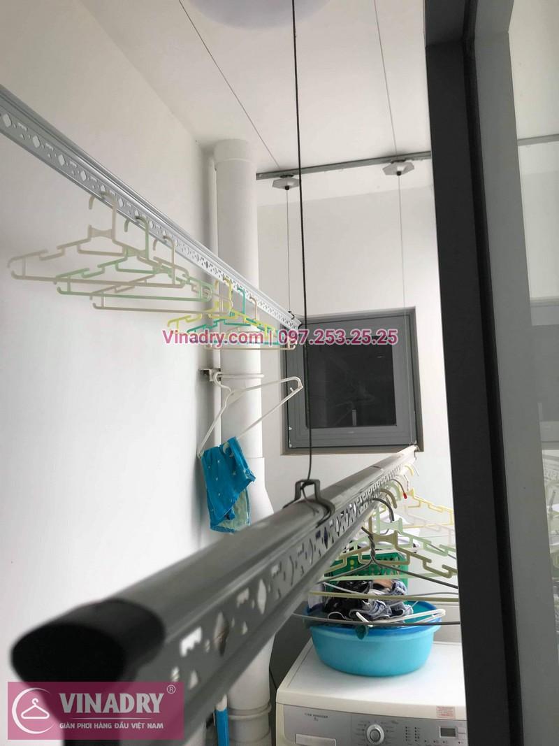 Vinadry thay dây cáp giàn phơi TỐT GIÁ RẺ tại Times City cho nhà anh Thông - 05
