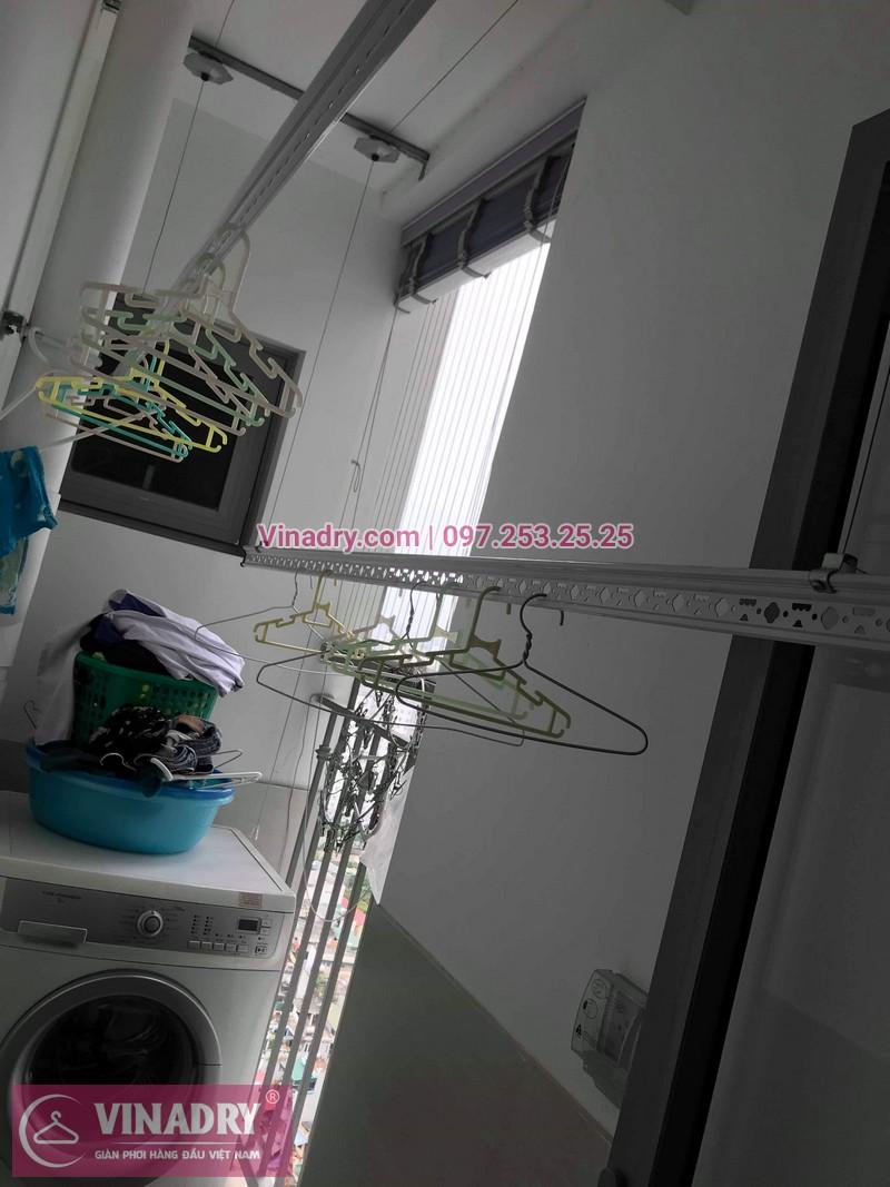 Vinadry thay dây cáp giàn phơi TỐT GIÁ RẺ tại Times City cho nhà anh Thông - 06