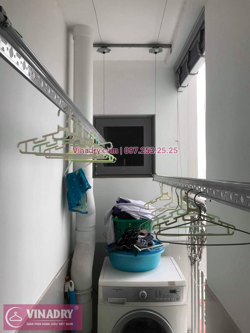 Vinadry thay dây cáp giàn phơi TỐT GIÁ RẺ tại Times City cho nhà anh Thông - 09