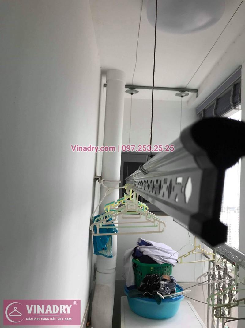 Vinadry thay dây cáp giàn phơi TỐT GIÁ RẺ tại Times City cho nhà anh Thông - 08
