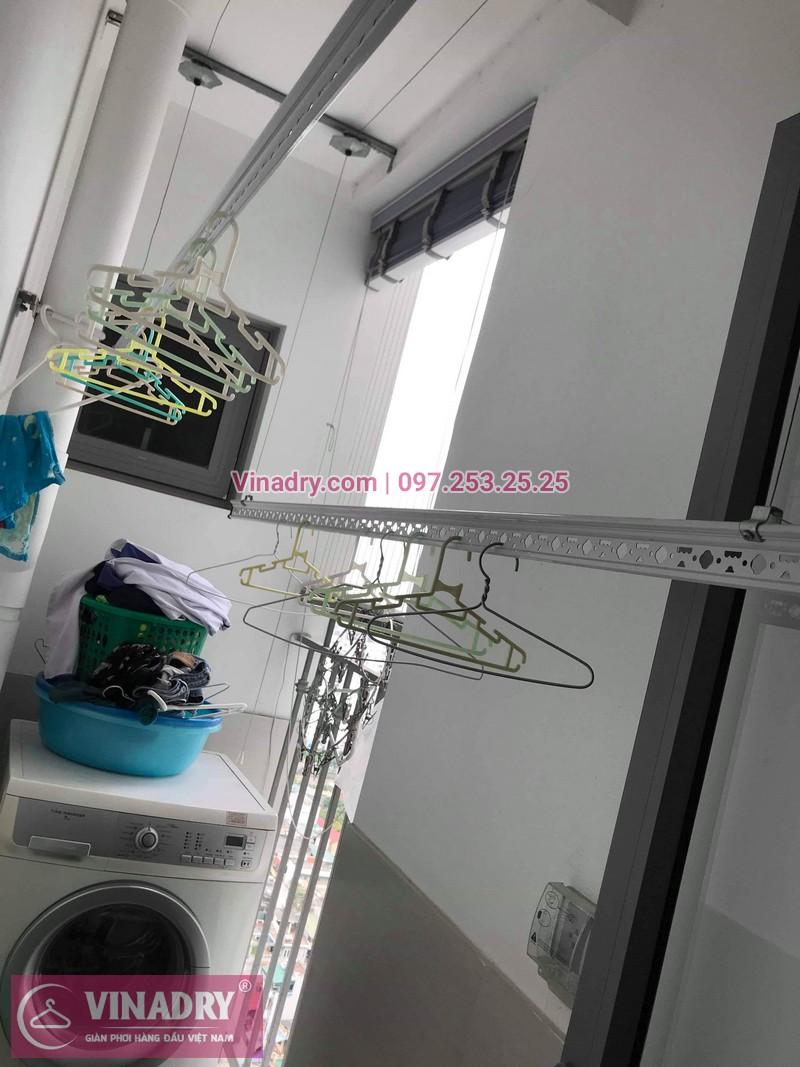 Vinadry thay dây cáp giàn phơi TỐT GIÁ RẺ tại Times City cho nhà anh Thông - 07