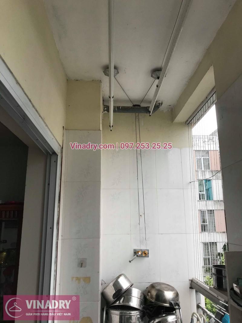 Vinadry lắp giàn phơi giá rẻ HP999B tại KĐT Đặng Xá, Gia Lâm cho gia đình chị Tâm - 05
