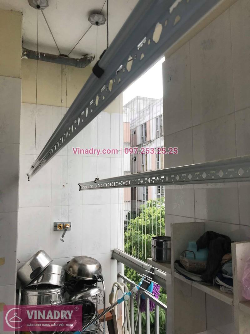 Vinadry lắp giàn phơi giá rẻ HP999B tại KĐT Đặng Xá, Gia Lâm cho gia đình chị Tâm - 08