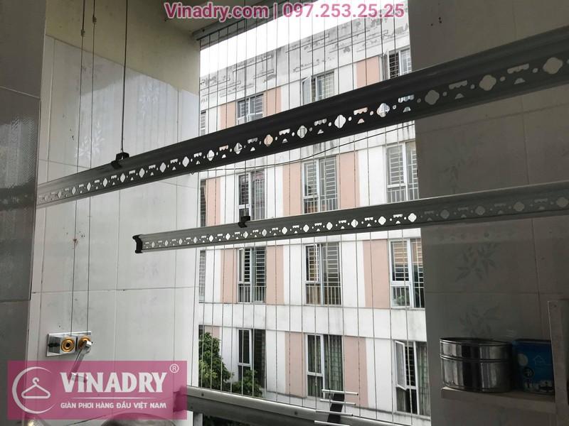 Vinadry lắp giàn phơi giá rẻ HP999B tại KĐT Đặng Xá, Gia Lâm cho gia đình chị Tâm - 10