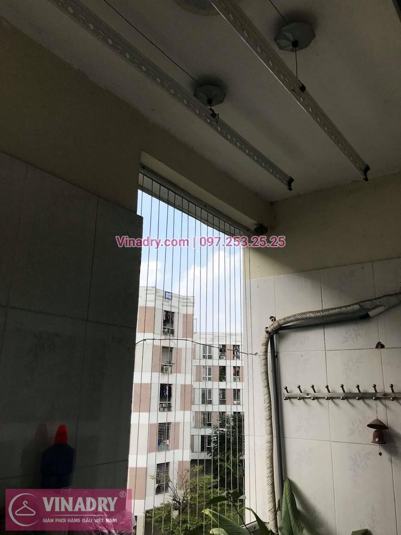 Vinadry lắp giàn phơi giá rẻ HP999B tại KĐT Đặng Xá, Gia Lâm cho gia đình chị Tâm - 11