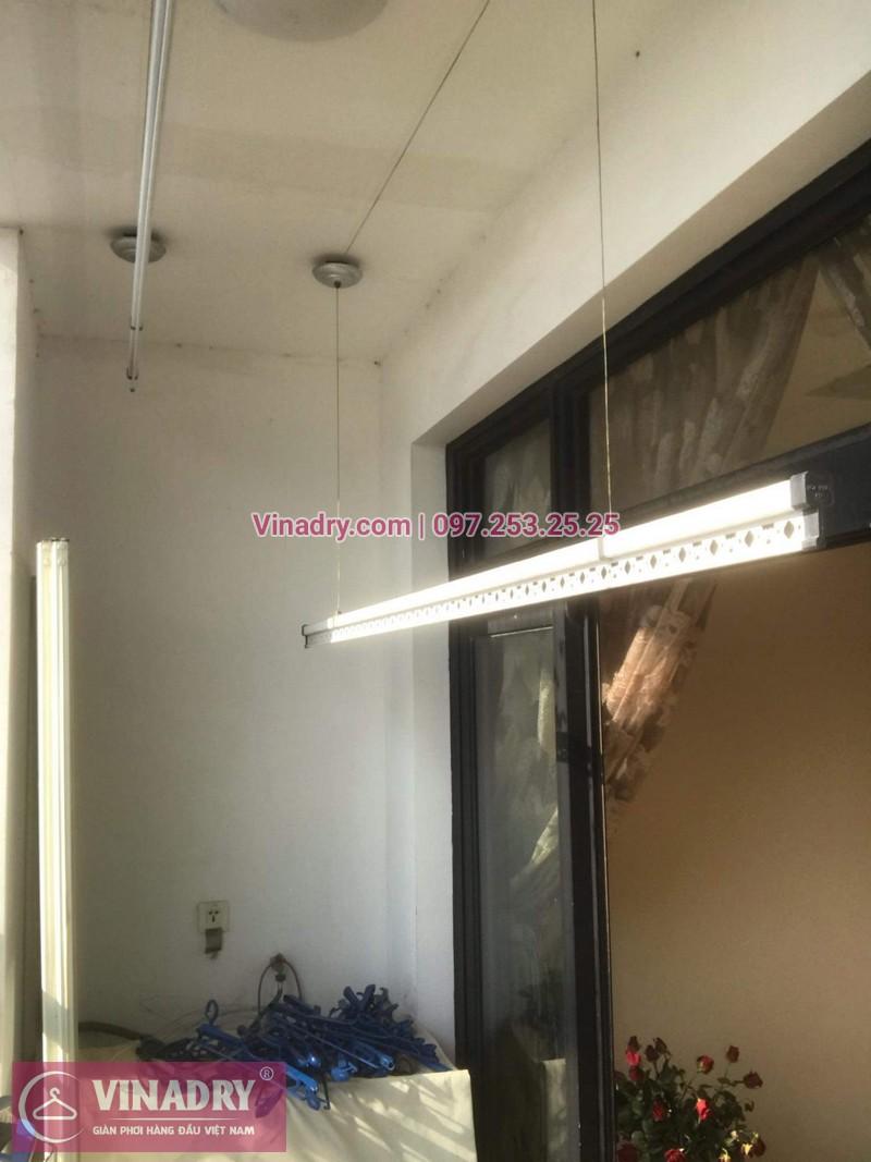 Vinadry lắp giàn phơi giá rẻ KS950 cho nhà chị Tú ở Royal City - 02