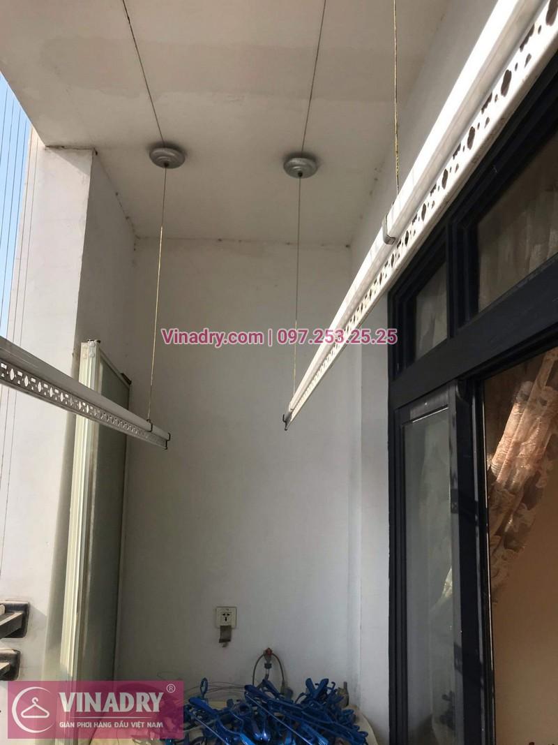 Vinadry lắp giàn phơi giá rẻ KS950 cho nhà chị Tú ở Royal City - 03