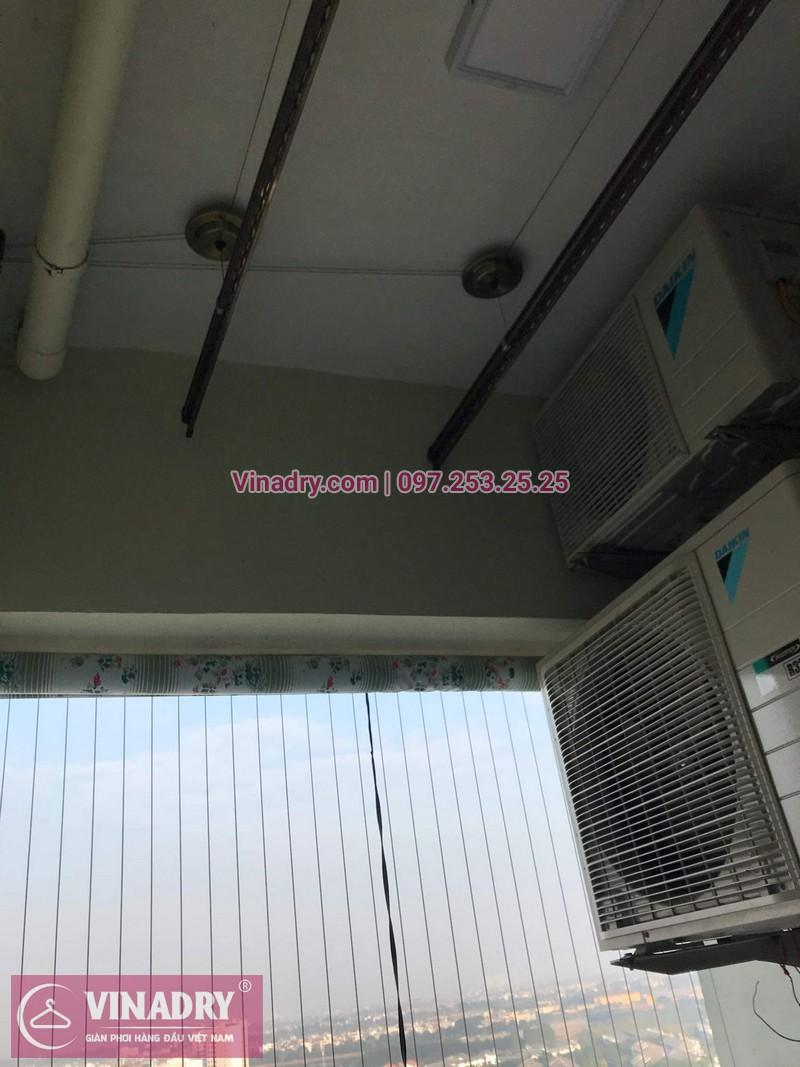 Viadry lắp lưới an toàn ban công tại Hoàng Mai cho nhà anh Tiên, chung cư Gelexia Riverside, 885 Tam Trinh - 02