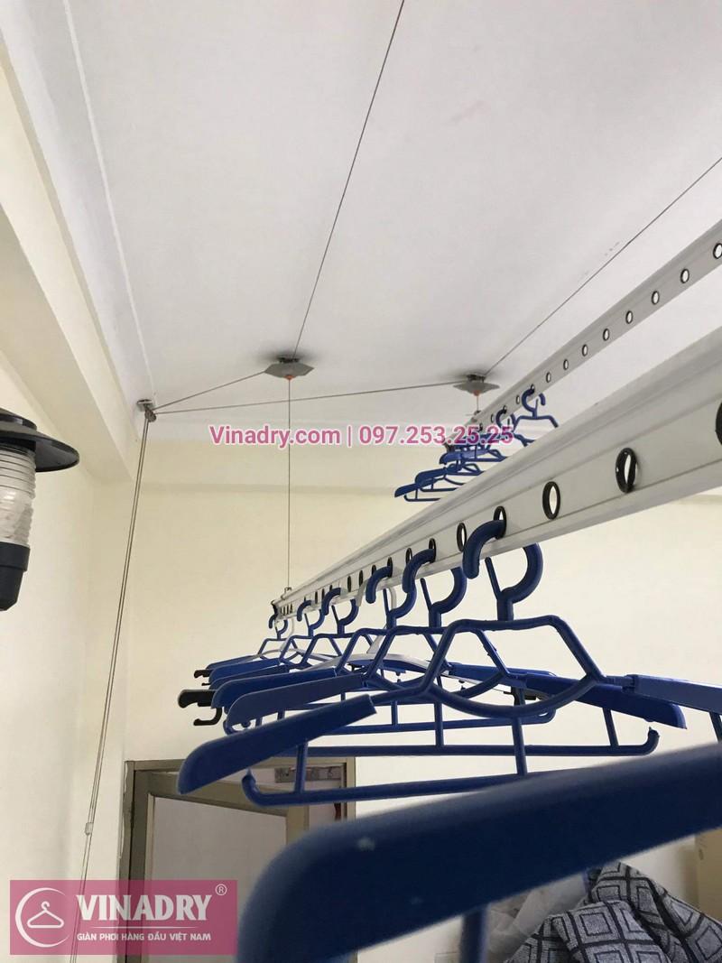 Vinadry lắp giàn phơi thông minh HP999B giá rẻ tại chung cư Hapulico Complex Thanh Xuân, căn 1202 cho nhà chú Hưng - 02