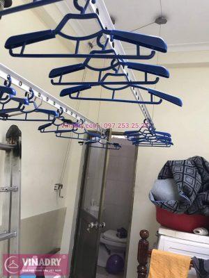 Vinadry lắp giàn phơi thông minh HP999B giá rẻ tại chung cư Hapulico Complex Thanh Xuân, căn 1202 cho nhà chú Hưng