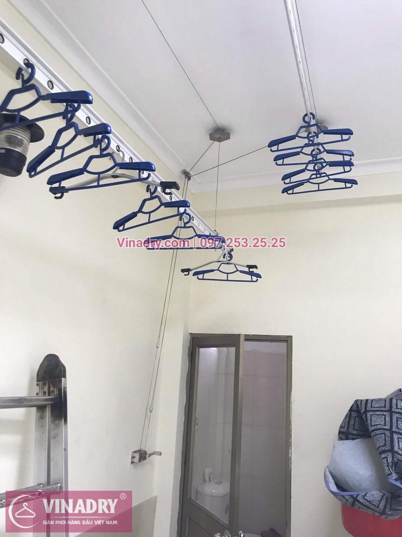 Vinadry lắp giàn phơi thông minh HP999B giá rẻ tại chung cư Hapulico Complex Thanh Xuân, căn 1202 cho nhà chú Hưng - 03
