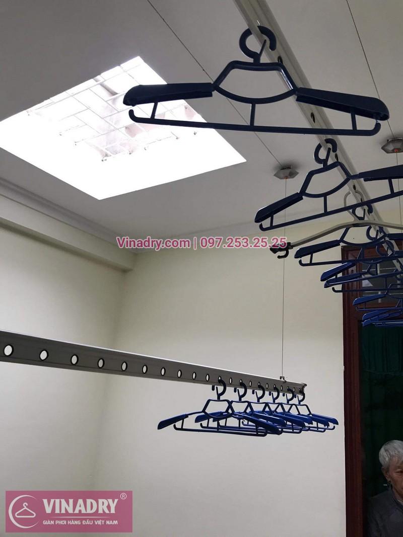 Vinadry lắp giàn phơi thông minh HP999B giá rẻ tại chung cư Hapulico Complex Thanh Xuân, căn 1202 cho nhà chú Hưng - 04