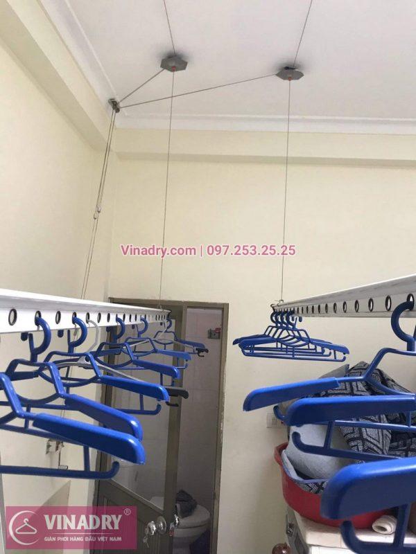 Vinadry lắp giàn phơi thông minh HP999B giá rẻ tại chung cư Hapulico Complex Thanh Xuân, căn 1202 cho nhà chú Hưng - 05