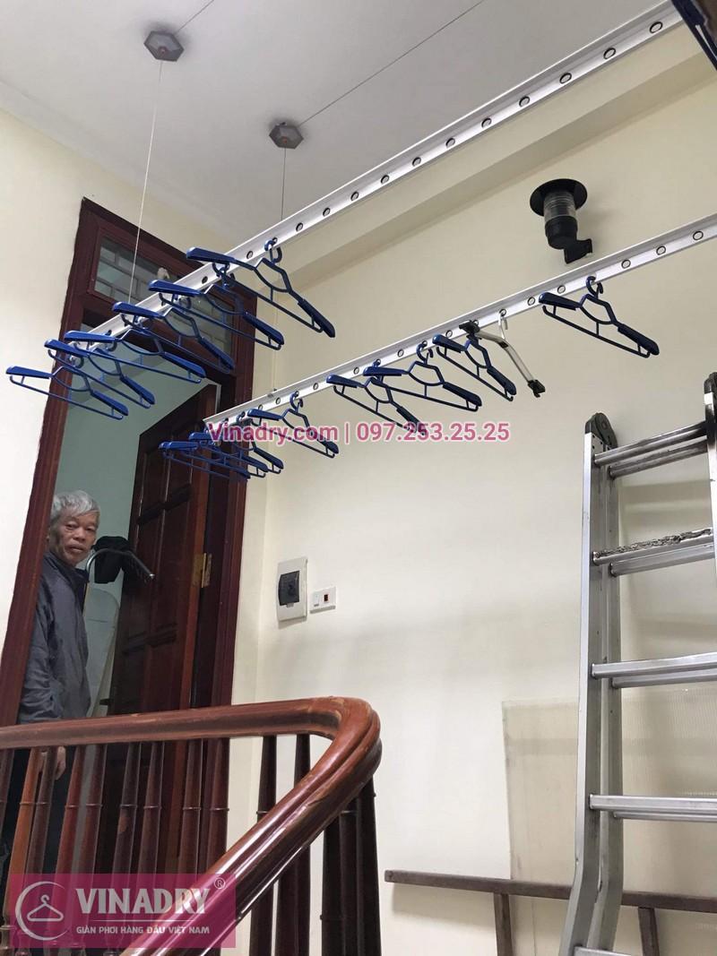 Vinadry lắp giàn phơi thông minh HP999B giá rẻ tại chung cư Hapulico Complex Thanh Xuân, căn 1202 cho nhà chú Hưng - 06