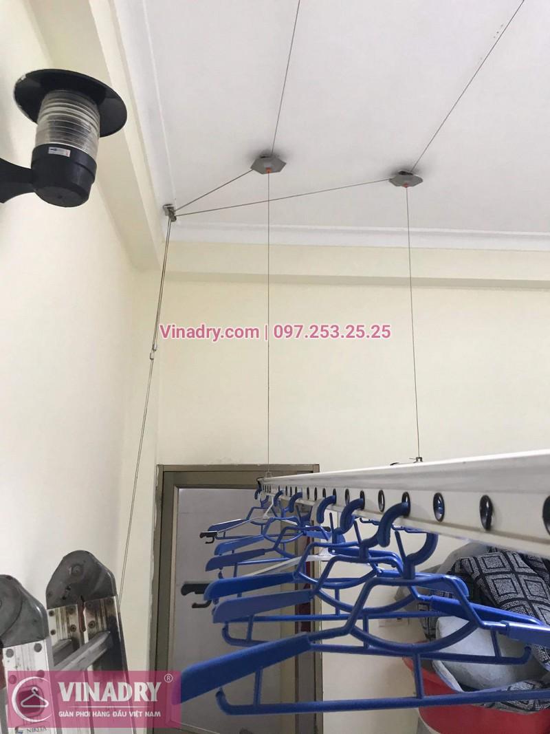 Vinadry lắp giàn phơi thông minh HP999B giá rẻ tại chung cư Hapulico Complex Thanh Xuân, căn 1202 cho nhà chú Hưng - 09