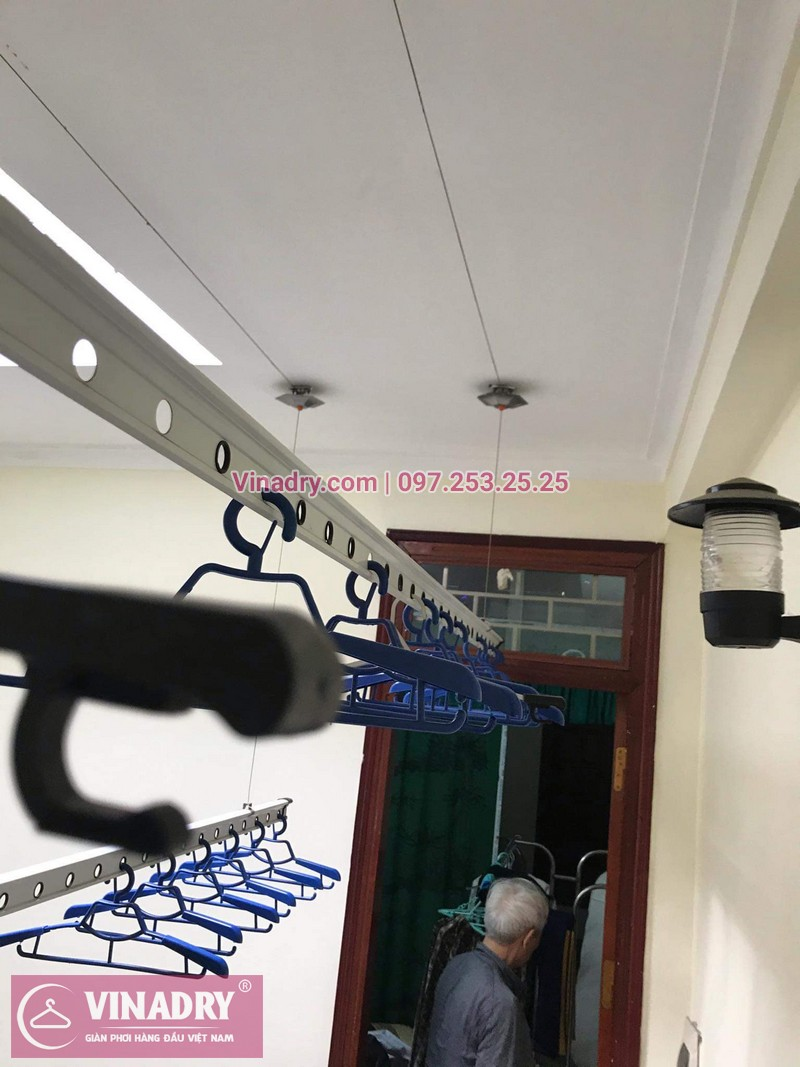 Vinadry lắp giàn phơi thông minh HP999B giá rẻ tại chung cư Hapulico Complex Thanh Xuân, căn 1202 cho nhà chú Hưng - 10