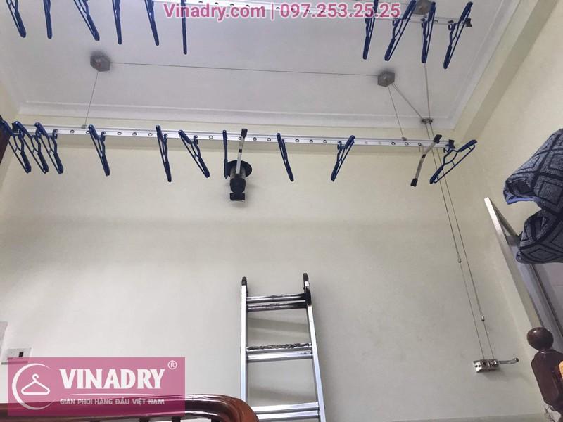 Vinadry lắp giàn phơi thông minh HP999B giá rẻ tại chung cư Hapulico Complex Thanh Xuân, căn 1202 cho nhà chú Hưng - 11