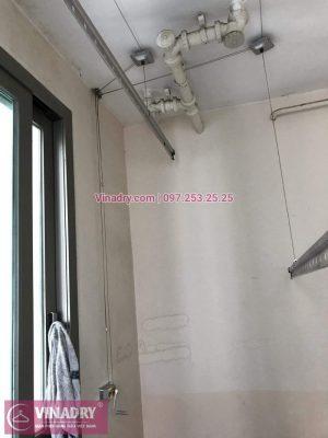 Vinadry lắp giàn phơi Hòa Phát giá rẻ HP999B tại chung cư Hyundai Hillstate, Hà Đông cho nhà anh Ngữ - 01