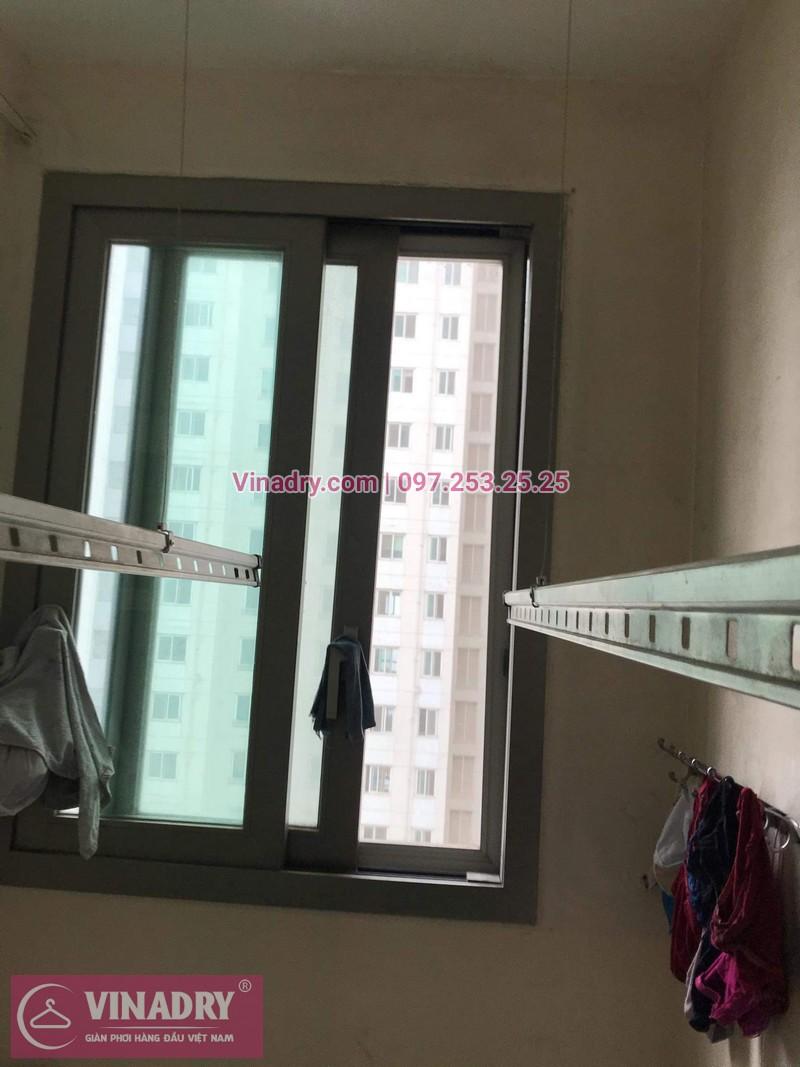 Vinadry lắp giàn phơi Hòa Phát giá rẻ HP999B tại chung cư Hyundai Hillstate, Hà Đông cho nhà anh Ngữ - 03
