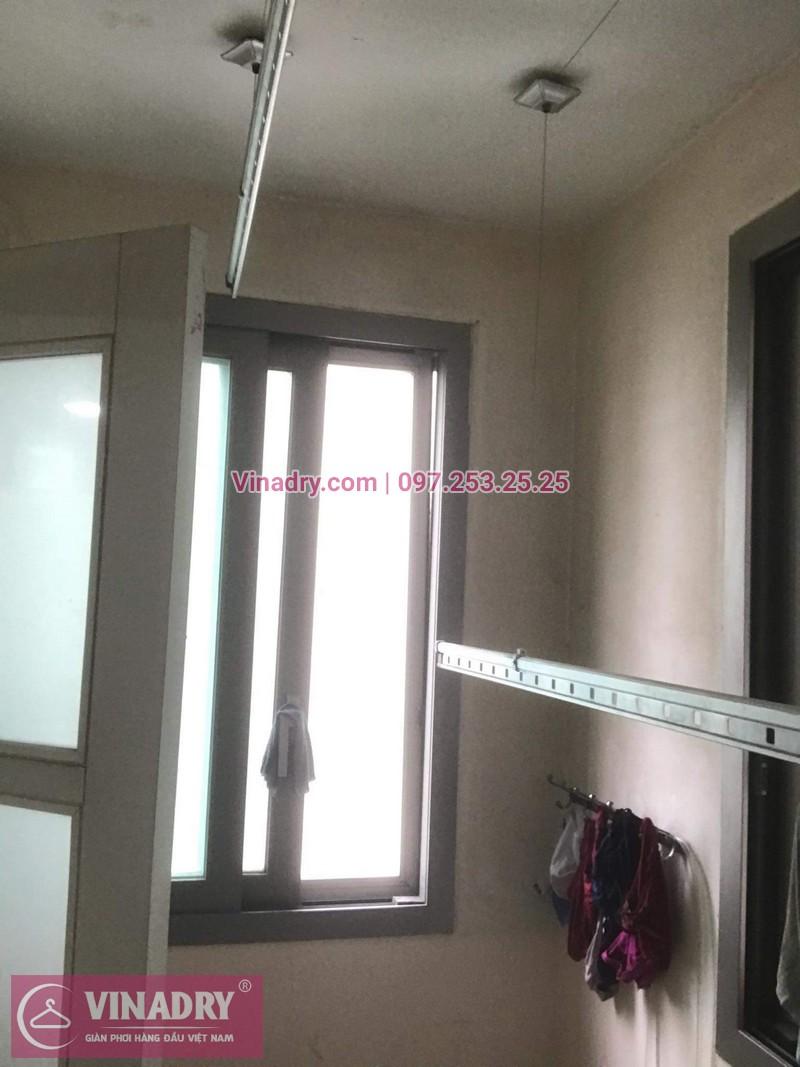 Vinadry lắp giàn phơi Hòa Phát giá rẻ HP999B tại chung cư Hyundai Hillstate, Hà Đông cho nhà anh Ngữ - 04