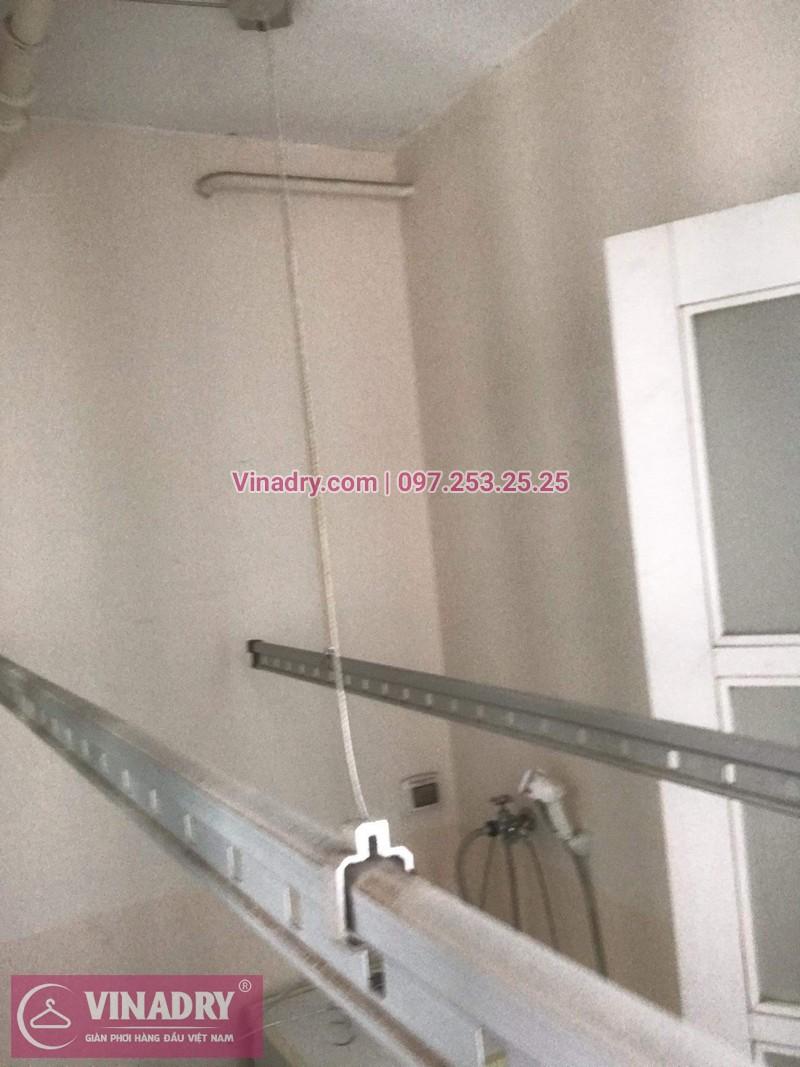 Vinadry lắp giàn phơi Hòa Phát giá rẻ HP999B tại chung cư Hyundai Hillstate, Hà Đông cho nhà anh Ngữ - 05