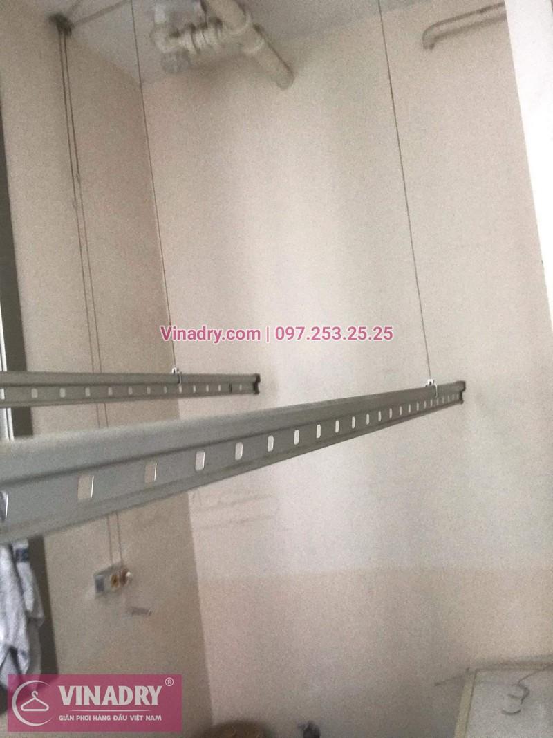 Vinadry lắp giàn phơi Hòa Phát giá rẻ HP999B tại chung cư Hyundai Hillstate, Hà Đông cho nhà anh Ngữ - 06